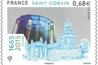EINE HIGH-TECH-BRIEFMARKE SAINT-GOBAIN